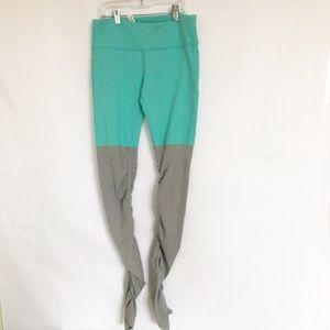 Alo Yoga Goddess Legging Teal Turquoise sz Medium